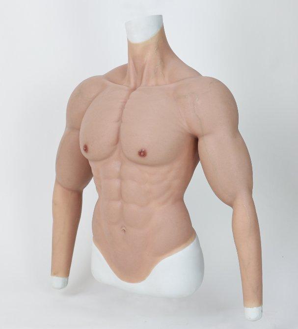 """La marque chinoise """"Smitizen"""" vous propose un summer body ultra réaliste avec ces muscles en silicone"""
