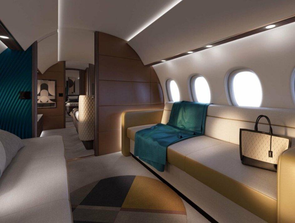 Voici à quoi pourrait ressembler le Falcon 10X, le futur avion de Dassault Aviation
