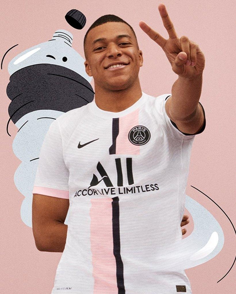 Le PSG révèle son nouveau maillot extérieur 2021-2022