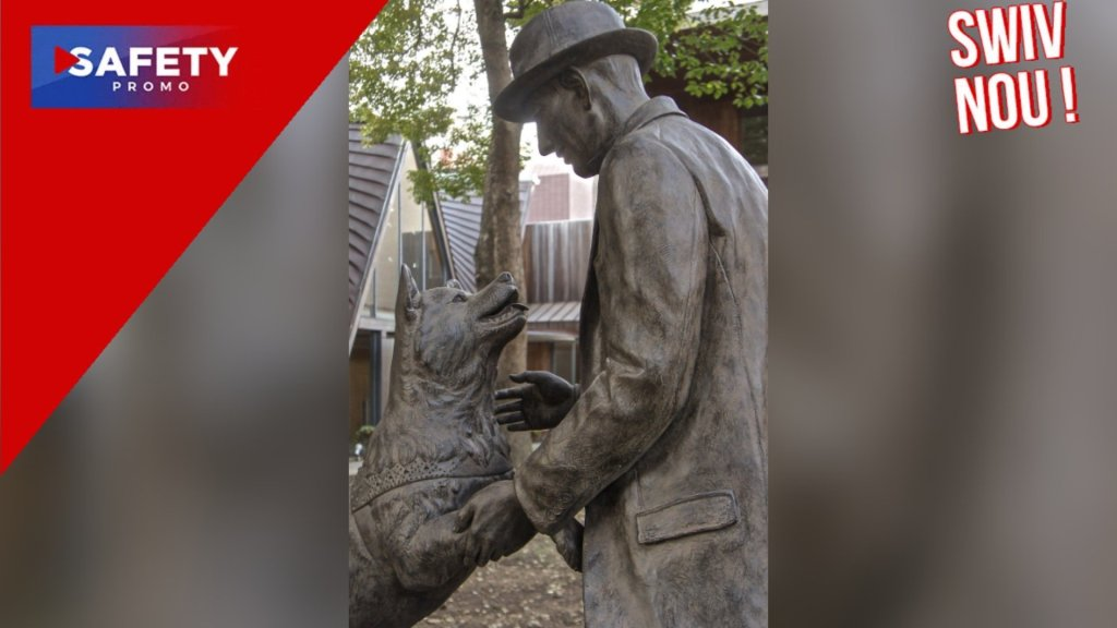 HACHIKO : La statue du chien fidèle à Shibuya