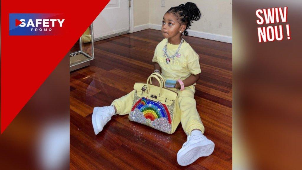 Un sac à 48 000 dollars pour la fille de Cardi B