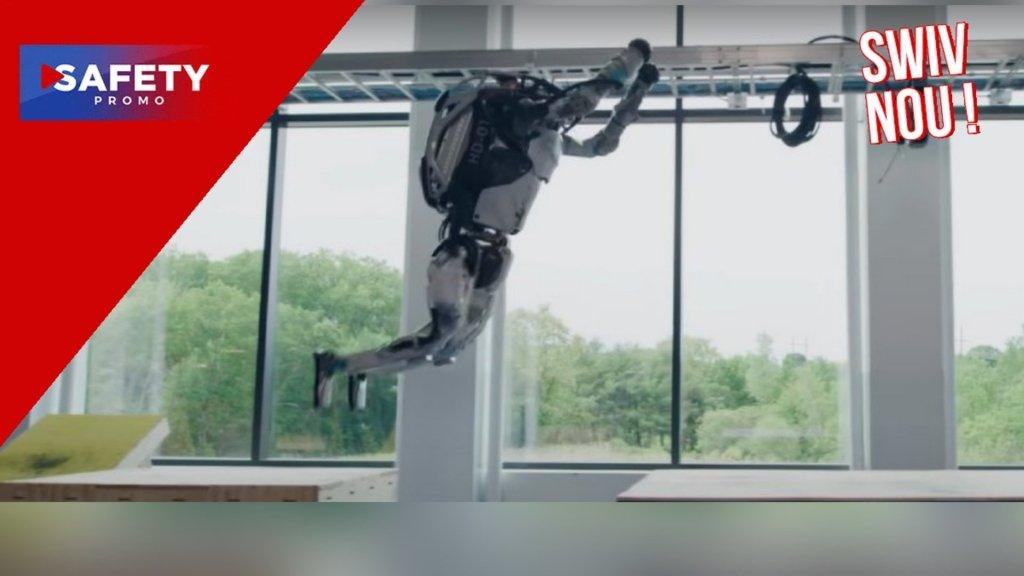 L'entreprise Boston Dynamics vient de dévoiler son nouveau robot Atlas