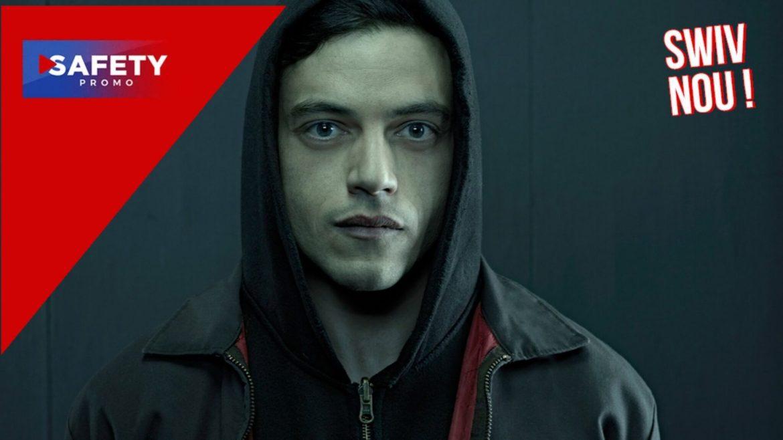 """""""Mr. Robot"""" Notre hacker préféré est sur Netflix !"""
