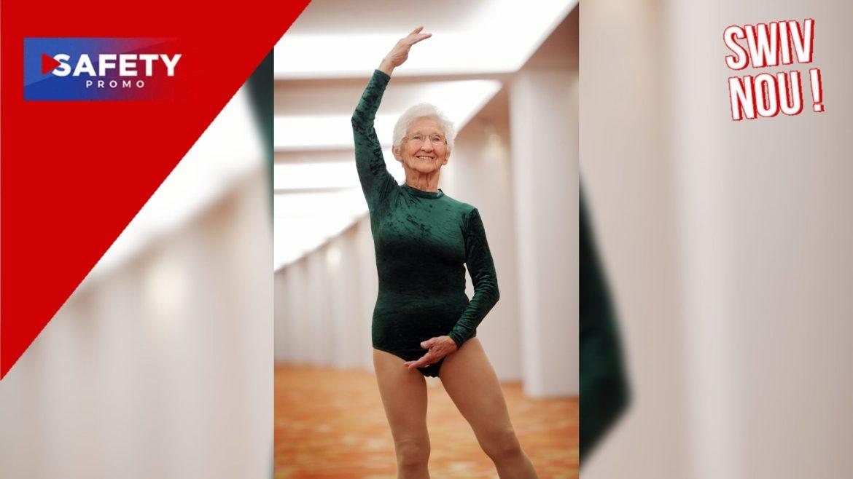 À 95 ans, Johanna Quaas est la gymnaste la plus âgée au monde
