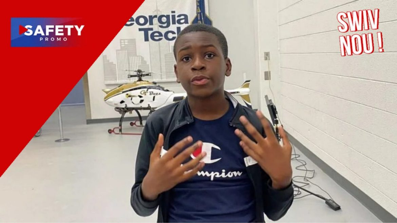 Caleb Anderson, 13 ans, devient le plus jeune étudiant du campus de Georgia Tech