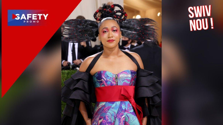 Naomi Osaka au gala du Met 2021 rend hommage à ses cultures