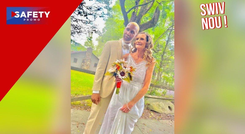 Cheryl McGregor, 61 ans, a épousé son petit ami Coran McCain, 24 ans