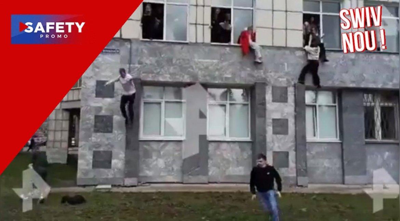 Un jeune homme de 18 ans ouvre le feu dans l'université de Perm en Russie