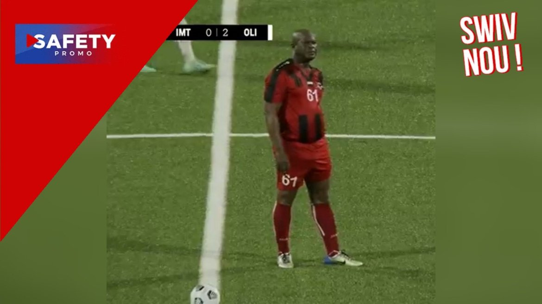À 60 ans, le vice-président du Suriname joue un match de Ligue Concacaf