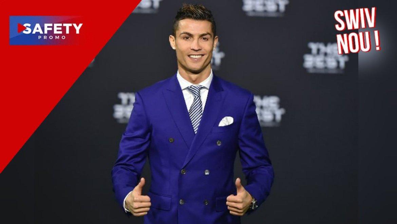 Cristiano Ronaldo footballeur le mieux payé au monde, selon Forbes
