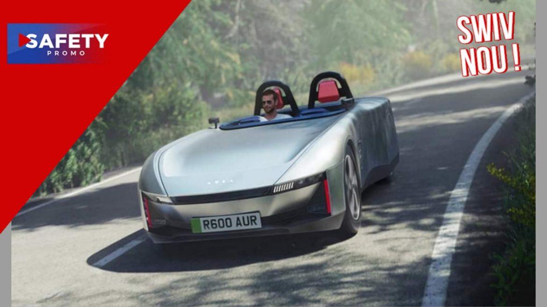 Des Anglais inventent la voiture électrique qui ne tombe jamais en panne