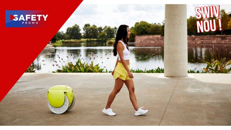 Piaggio, le créateur du Vespa, commercialise un petit robot qui porte vos courses
