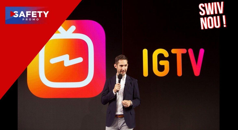 Au revoir IGTV, bonjour Instagram Video