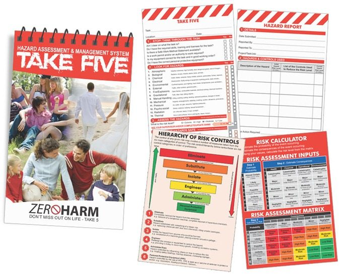 Take 5 Safety Book