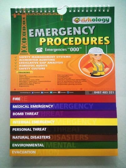 free emergency flipchart giveaway safetyrisk net