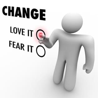 Love or Fear Change - Do You Embrace Different Things