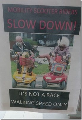 Old People Racing Buggies