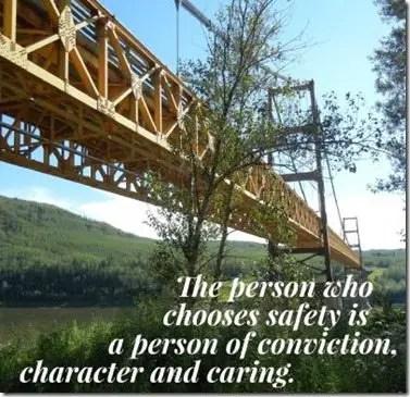 choose safety