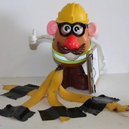barry banana hazard tip