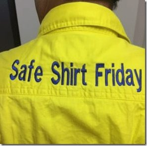 safe shirt friday