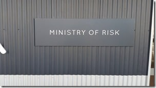 ministry of risk