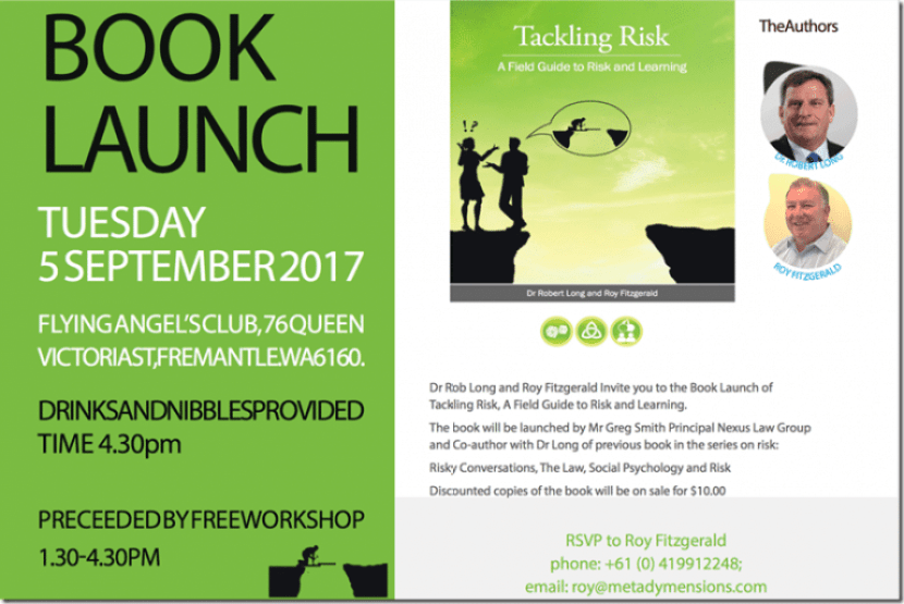 Book Launch for Perth people