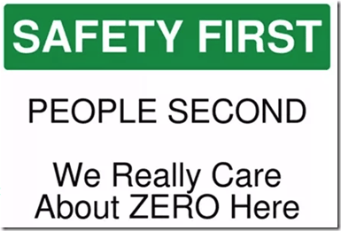 safety is number one priority