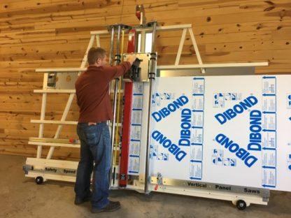 dust free combination machine processing large panels