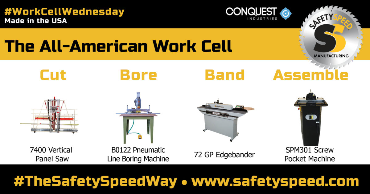 woodworking manufacturing cell by Safety Speed