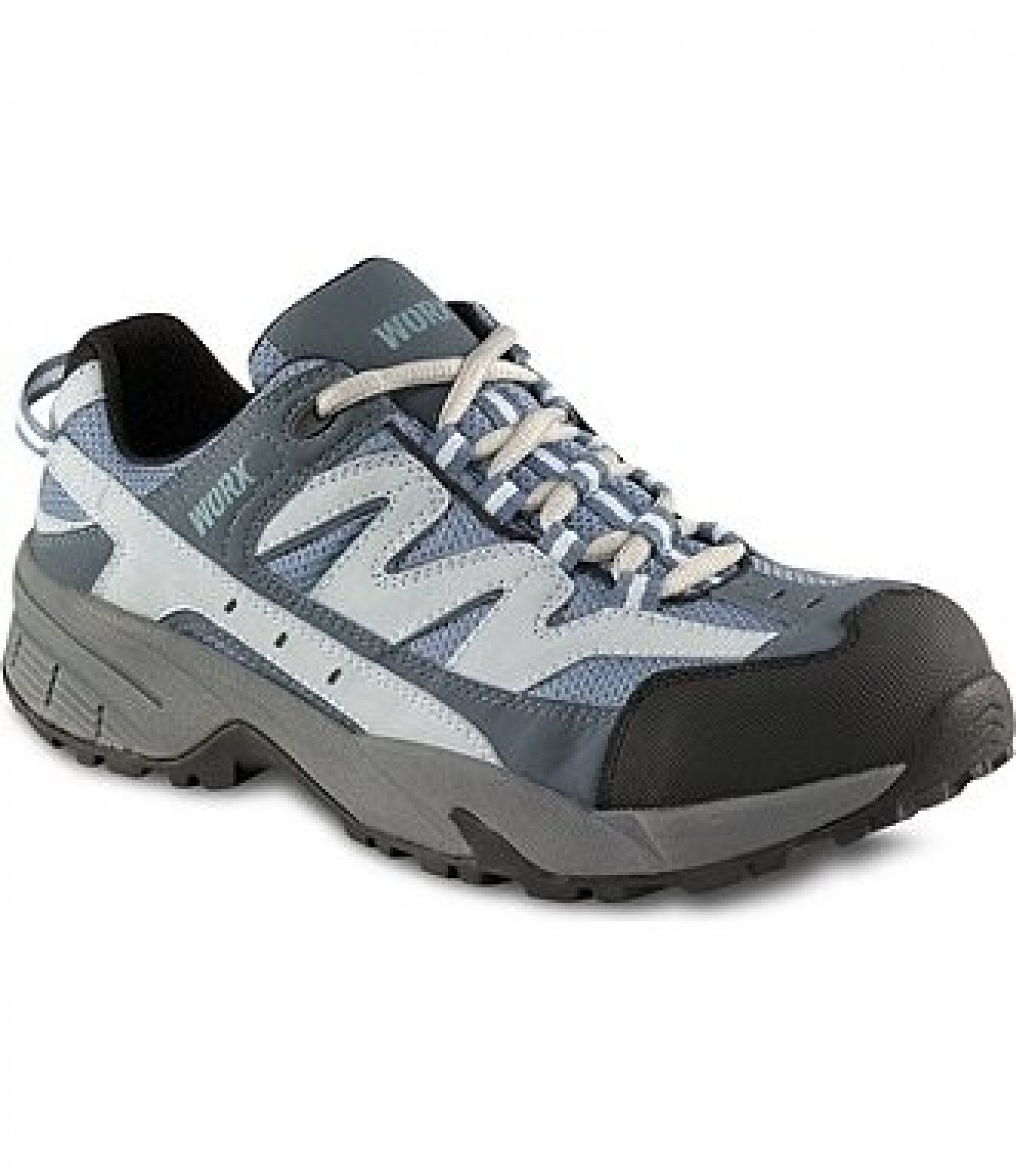 Worx Laced Safety Shoes Ladies Footwear