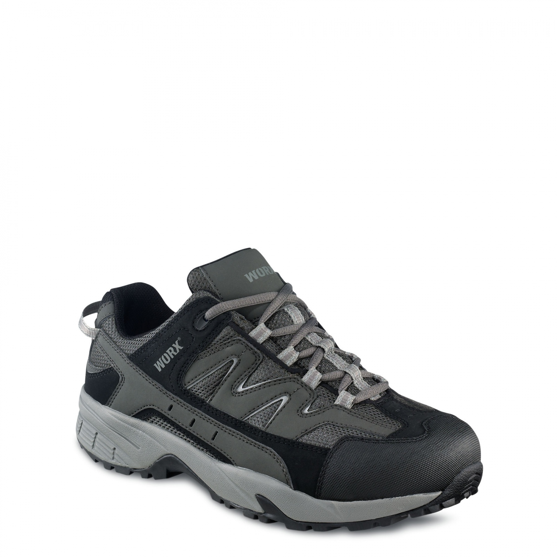 Worx Laced Safety Shoes Gents Footwear