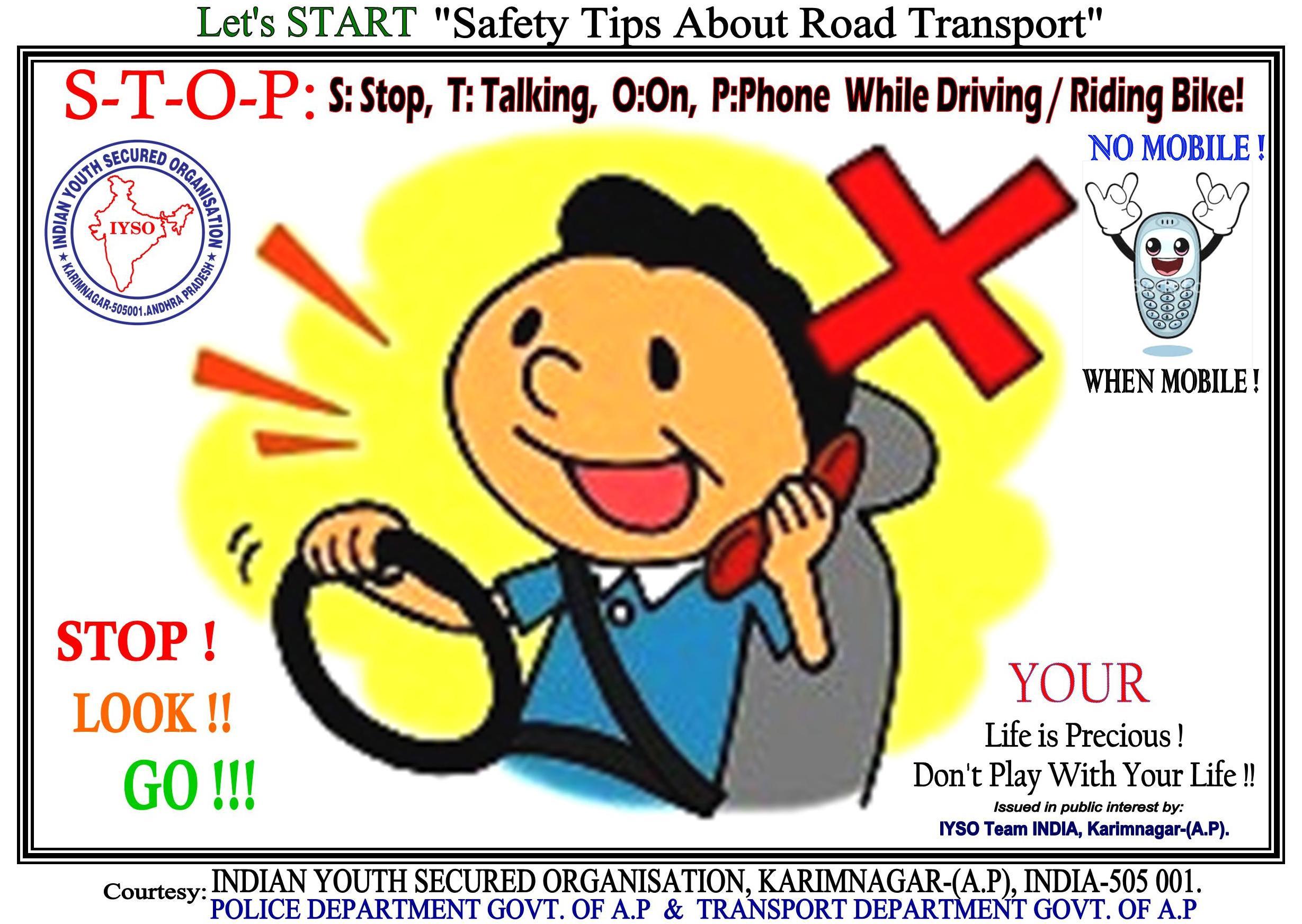 Lets START Safety Tips About Road Transport Regarding