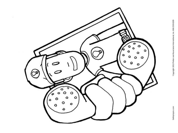 Call 911 Coloring Pages Sketch Coloring Page
