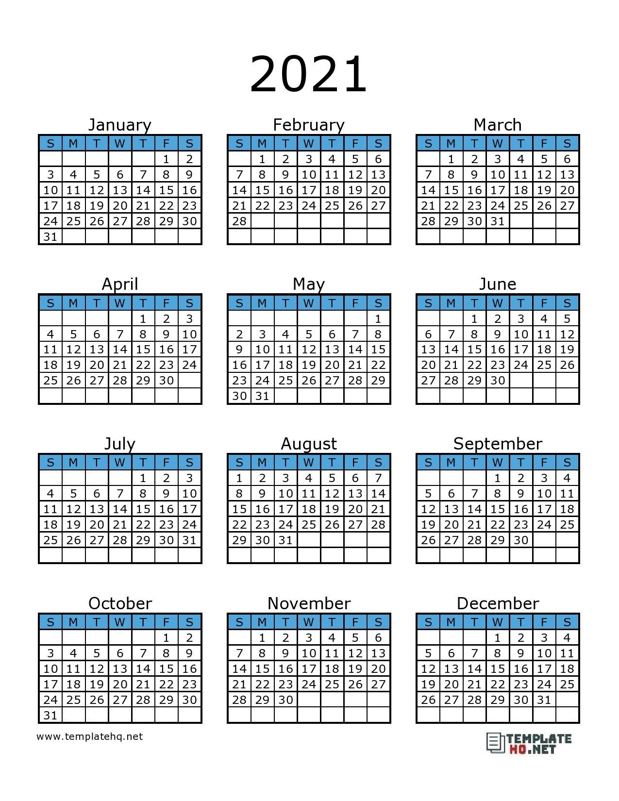Click the following image links to print the free printable 2021 printable calendar pages individually. Printable 2021 F-1 Schedule - Example Calendar Printable