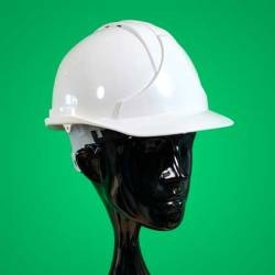 White Safety Helmet