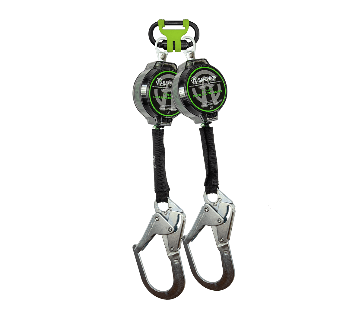 7′ Dual Leg Web Retractable with Steel Rebar Hooks & 1014