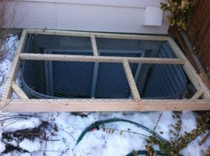 Ugly DIY Window Well Covers - You May Want to Reconsider