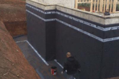 foundation waterproofing safe method statement