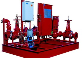 Fire Fighting pumps testing & Commissioning