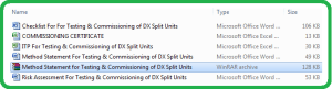 Method_Statement_For_Testing___Commissioning_of_DX_Split_Units