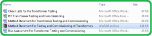 Method_Statement_For_Testing_and_Commissioning_of_Transformers