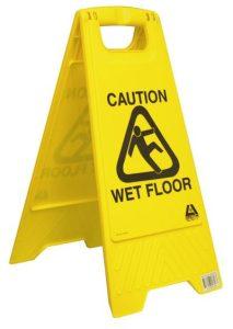 wet floor safety procedure