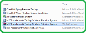 MST_Installation_Testing_Of_Water_Filtration_System