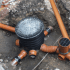 underground drainage piping installation method of statement