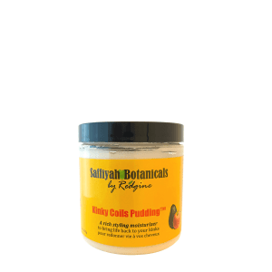 kinky coils hair pudding