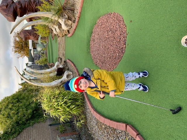 FAMILY DAY OUT: Roarsome fun for the family with dino mini-golf