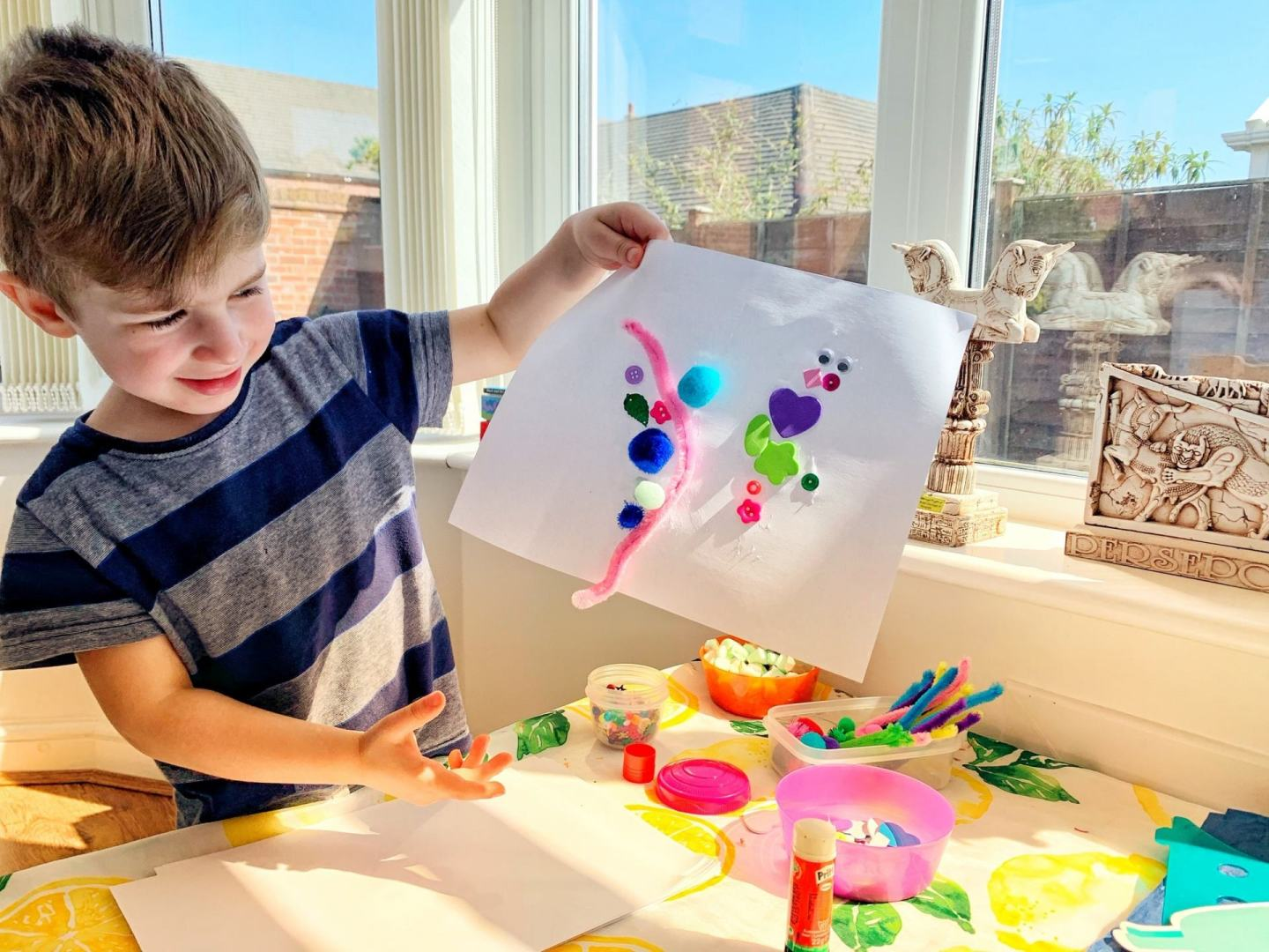 Creative kids activities when you're working from home