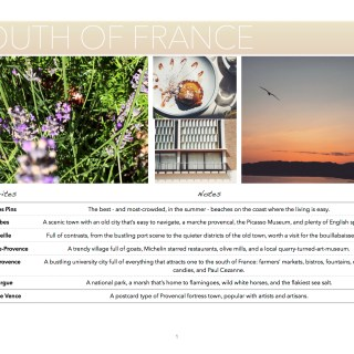 Guide to the South of France
