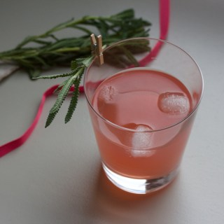 Pink gin for Valentine's Day