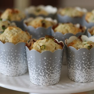 Parmesan and herb muffins